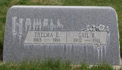 Thelma E. <I>Donnell</I> Howell