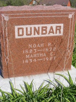 Martha E. <I>Ridge</I> Dunbar