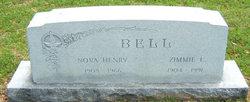 Nova Lee <I>Henry</I> Bell