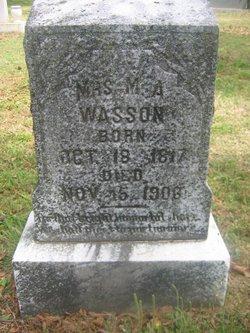 Margaret Ann <I>Pickens</I> Wasson