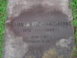 Rev William Ashley Taliaferro