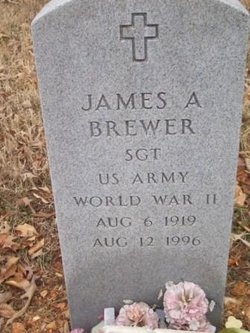 SGT James A. Brewer