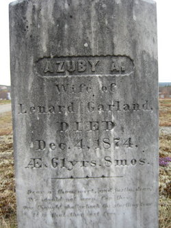 "Mrs Azuby A. ""Zuby"" <I>Moore</I> Garland"