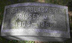 Dr Eleanor Blackstone Crissey