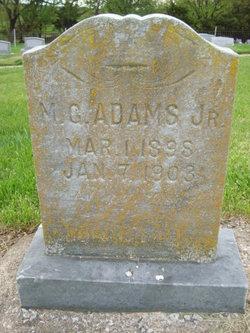 M. G. Adams, Jr