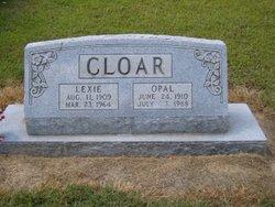Vela Opal <I>Jones</I> Cloar