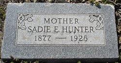 Sadie E. Hunter