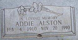 Addie Alston