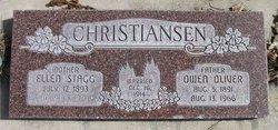 Ellen Priscilla <I>Stagg</I> Christiansen