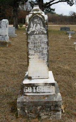 Rhoda Margaret <I>Hancock</I> Gotcher