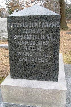 Eugenia <I>Hunt</I> Adams