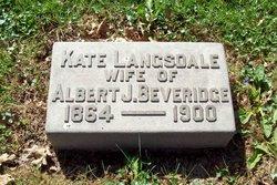 Katherine M. <I>Langsdale</I> Beveridge