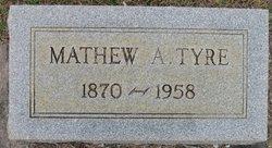 Matthew Alvin Tyre