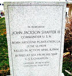 CDR John Jackson Shaffer, III