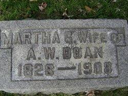 Martha G. <I>Taylor</I> Doan