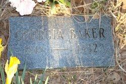 Georgiana <I>Kendrick</I> Baker