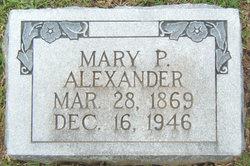 Mary Penelope <I>Formby</I> Alexander