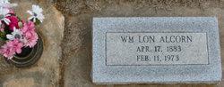 "William Lon ""Lonnie"" Alcorn"