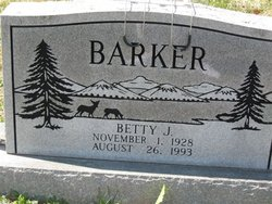 Betty Jo <I>Butcher</I> Barker