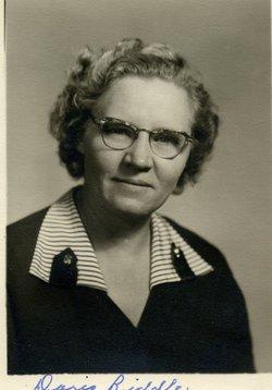 Doris Leora LaDana <I>Baker</I> Riddle