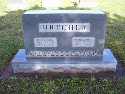 Marie <I>Edwards</I> Hatcher