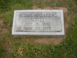 Bessie Matthews Scott