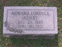 Howard Fordyce Ashby