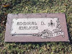 Admiral Dewey Walker