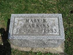 Mary B <I>Greene</I> Hawkins