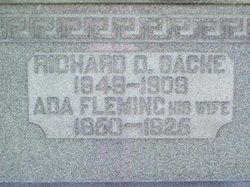 Ada E. <I>Fleming</I> Bache
