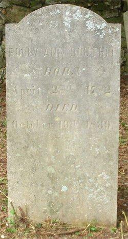 Mary Ann <I>Tomotley</I> Douthit