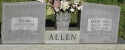 Betty Sue <I>Holton</I> Allen