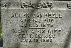 Mary A <I>Hoots</I> Campbell
