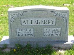 Ruth Marie <I>Watt</I> Atteberry