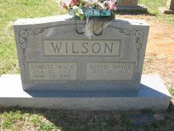 "Samuel Maxwell ""Mack"" Wilson"