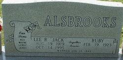 Lee R Jack Alsbrooks