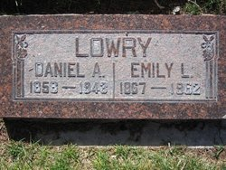 Emily <I>Ludvigson</I> Lowry