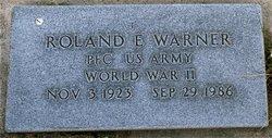 Roland E Warner