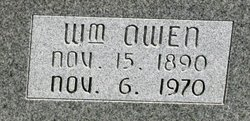 "William Owen ""Owen"" Willey"