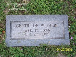 Gertrude <I>Bardwell</I> Withers