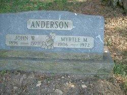 Myrtle M <I>Herrick</I> Anderson