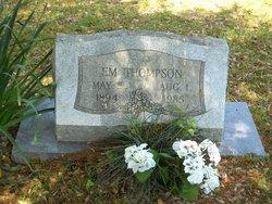 """Emma """"Emmie"""" <I>Vansau</I> Thompson"""