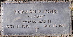 Norman P Jones