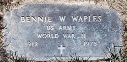 Bennie W Waples