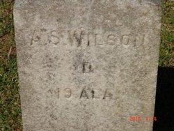 A. S. Wilson