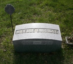 Minnie Belle <I>Quincy</I> Burridge