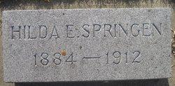 Hilda E. <I>Anderson</I> Springen