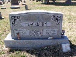 Alice Lena <I>Thompson</I> Blackburn
