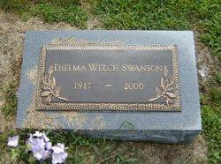 Thelma Josephine Welch Swanson