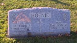 Mary Katherine <I>Gast</I> Hoenie